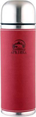 Термос для напитков Арктика 108-1000 (красный) - общий вид