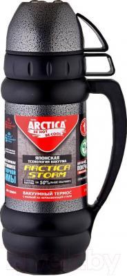 Термос для напитков Арктика 109-1000М (черный) - общий вид