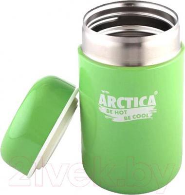 Термос для еды Арктика 411-400 (зеленый) - общий вид
