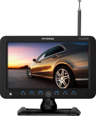 Автомобильный телевизор Hyundai H-LCD700 - вид спереди