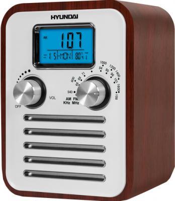 Радиоприемник Hyundai H-1623 Dark wood - общий вид