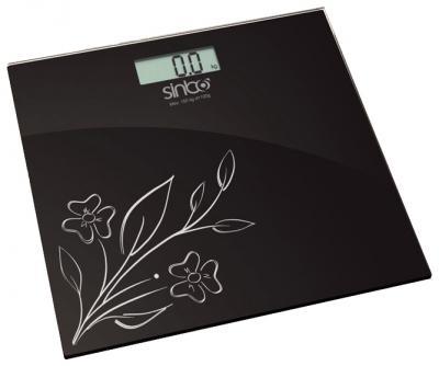 Напольные весы электронные Sinbo SBS-4421 BK - вид сверху