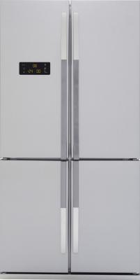 Холодильник с морозильником Beko GNE114610X - Вид спереди