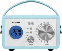 Радиоприемник Hyundai H-1612 (Light Blue) - общий вид
