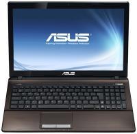 Ноутбук Asus K53TA-SX007D - спереди открытый