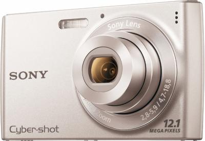 Компактный фотоаппарат Sony Cyber-shot DSC-W515PS - Вид спереди