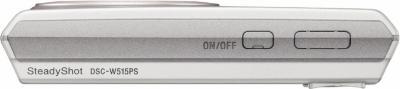 Компактный фотоаппарат Sony Cyber-shot DSC-W515PS - Вид сверху
