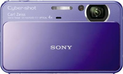 Компактный фотоаппарат Sony Cyber-shot DSC-T110 Violet - Общий вид