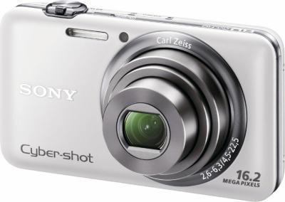 Компактный фотоаппарат Sony DSC-WX7 (DSCWX7WC.CEE2) White - Общий вид
