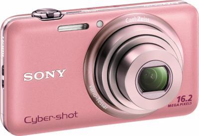 Компактный фотоаппарат Sony Cyber-shot DSC-WX7 Pink - Общий вид