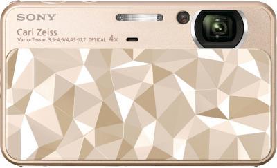 Компактный фотоаппарат Sony DSC-T110D (DSCT110DN.CEE2) Gold - общий вид