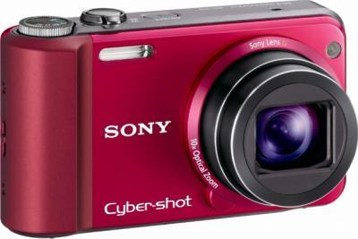 Компактный фотоаппарат Sony Cyber-shot DSC-H70 (DSCH70R.CEE2) Red - Общий вид