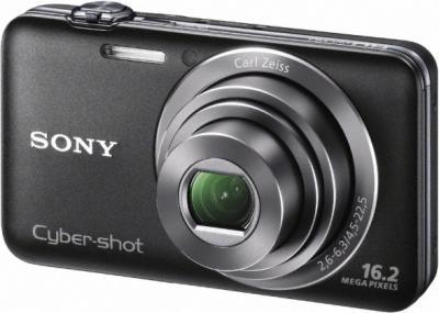 Компактный фотоаппарат Sony Cyber-shot DSC-WX30 (Black) - Общий вид