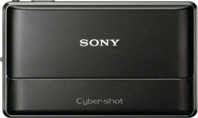 Компактный фотоаппарат Sony Cyber-shot DSC-WX10 (DSCWX10B.CEE2 Black) - Вид спереди