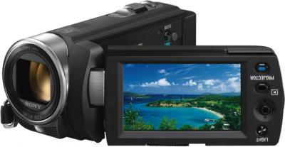 Видеокамера Sony DCR-PJ5E - дисплей