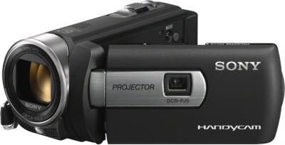 Видеокамера Sony DCR-PJ5E - общий вид