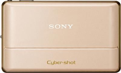 Компактный фотоаппарат Sony Cyber-shot DSC-TX100V Gold - Общий вид