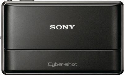 Компактный фотоаппарат Sony Cyber-shot DSC-TX100V Black - общий вид