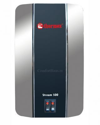 Проточныйводонагреватель Thermex Stream 500 (хром) - вид спереди