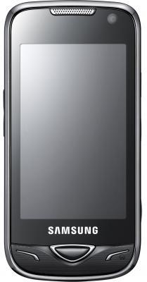 Мобильный телефон Samsung B7722 Black - вид спереди
