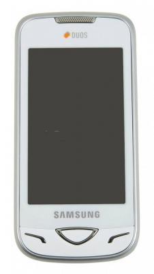 Мобильный телефон Samsung B7722 White - вид спереди