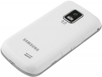 Мобильный телефон Samsung B7722 White - вид сзади