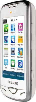 Мобильный телефон Samsung B7722 White - вид сбоку