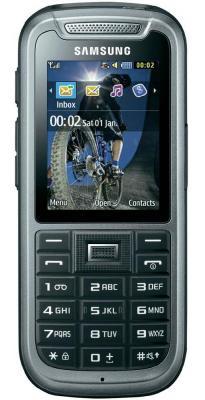 Мобильный телефон Samsung C3350 Gray (GT-C3350 AAASER) - общий вид