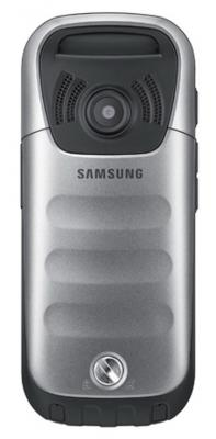 Мобильный телефон Samsung C3350 Gray (GT-C3350 AAASER) - вид сзади