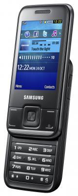 Мобильный телефон Samsung E2600 Black (GT-E2600 ZKASER) - общий вид
