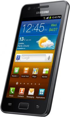 Смартфон Samsung I9103 Galaxy R Gray (GT-I9103 MAASER) - общий вид