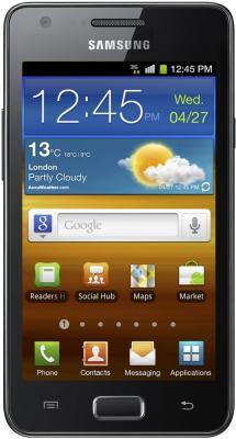 Смартфон Samsung I9103 Galaxy R Gray (GT-I9103 MAASER) - вид спереди