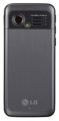 Мобильный телефон LG GX200 Black - вид сзади