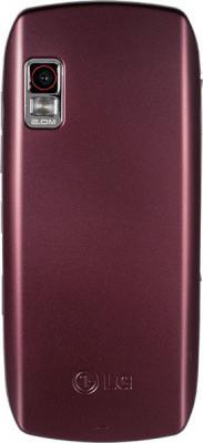 Мобильный телефон LG GX300 Wine-Red - вид сзади