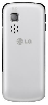 Мобильный телефон LG S367 Soft Gray - вид сзади