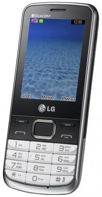 Мобильный телефон LG S367 Soft Gray - общий вид