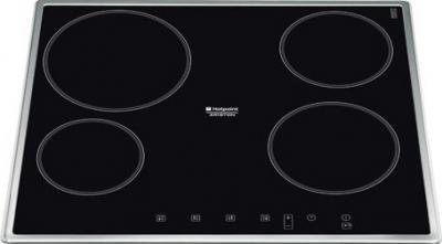 Электрическая варочная панель Hotpoint KRC 640 X - общий вид