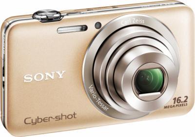 Компактный фотоаппарат Sony Cyber-shot DSC-WX30 Gold - Общий вид