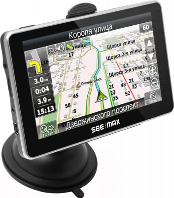 GPS навигатор SeeMax navi E510 BT 8gb - вид сбоку