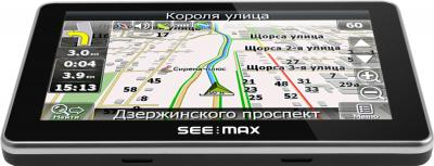 GPS навигатор SeeMax navi E510 BT 8gb - вид сверху
