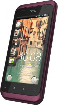 Смартфон HTC Rhyme Plum - общий вид