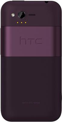 Смартфон HTC Rhyme Plum - вид сзади