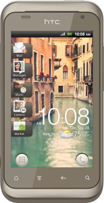 Смартфон HTC Rhyme Hour Glass - вид спереди
