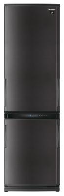 Холодильник с морозильником Sharp SJ-WP360TBK - общий вид