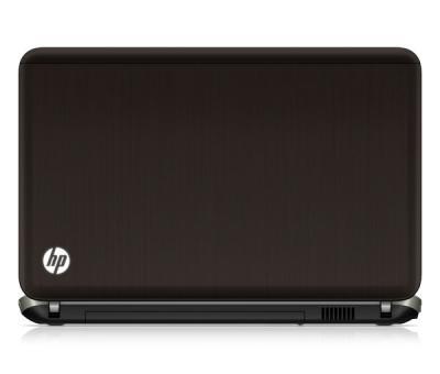 Ноутбук HP PAVILION dv6-6b06er (A1Q58EA) - сзади открытый