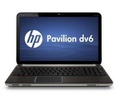 Ноутбук HP PAVILION dv6-6b06er (A1Q58EA) - спереди
