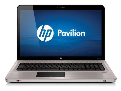 Ноутбук HP Pavilion dv7-6b00er (QJ362EA) - спереди