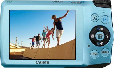 Компактный фотоаппарат Canon PowerShot A3200 IS Aqua - Вид сзади