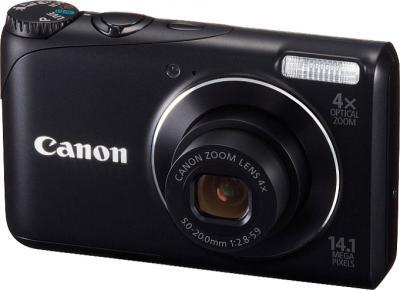 Компактный фотоаппарат Canon PowerShot A2200 Black - общий вид