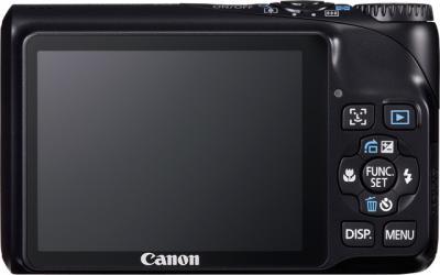 Компактный фотоаппарат Canon PowerShot A2200 Black - вид сзади